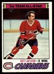 1977 Topps #200  Guy Lafleur  Front Thumbnail