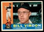 1960 Topps #496  Bill Virdon  Front Thumbnail