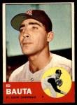 1963 Topps #336  Ed Bauta  Front Thumbnail