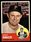 1963 Topps #425  Smoky Burgess  Front Thumbnail