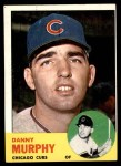 1963 Topps #272  Danny Murphy  Front Thumbnail