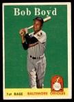 1958 Topps #279  Bob Boyd  Front Thumbnail