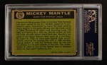 1961 Topps #578   -  Mickey Mantle All-Star Back Thumbnail