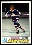 1977 Topps #186  Ian Turnbull  Front Thumbnail