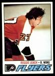 1977 Topps #185  Reggie Leach  Front Thumbnail