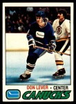 1977 Topps #111  Don Lever  Front Thumbnail