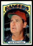 1972 Topps #510  Ted Williams  Front Thumbnail