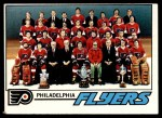 1977 Topps #83   Flyers Team Checklist Front Thumbnail