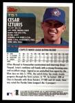2000 Topps Traded #51 T Cesar Izturis  Back Thumbnail