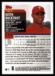 2000 Topps Traded #87 T Keith Bucktrot  Back Thumbnail