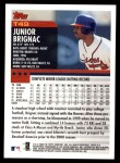 2000 Topps Traded #49 T Junior Brignac  Back Thumbnail