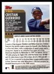 2000 Topps Traded #69 T Cristian Guerrero  Back Thumbnail