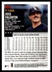 2000 Topps Traded #122 T Jose Valentin  Back Thumbnail