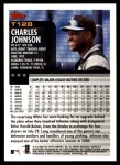2000 Topps Traded #128 T Charles Johnson  Back Thumbnail