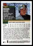 2000 Topps Traded #37 T Miguel Olivo  Back Thumbnail