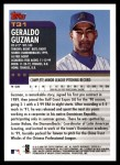 2000 Topps Traded #31 T Geraldo Guzman  Back Thumbnail