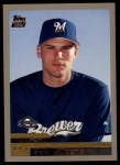 2000 Topps Traded #10 T Ben Sheets  Front Thumbnail