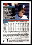 2000 Topps Traded #93 T Adam Kennedy  Back Thumbnail