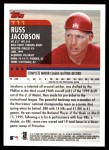 2000 Topps Traded #11 T Russ Jacobson  Back Thumbnail