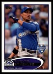 2012 Topps Update #6  Carlos Gonzalez  Front Thumbnail