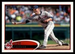 2012 Topps Update #17  Joe Smith  Front Thumbnail