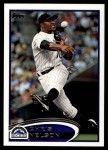 2012 Topps Update #22  Chris Nelson  Front Thumbnail