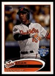 2012 Topps Update #32  Adam Jones  Front Thumbnail