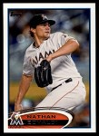2012 Topps Update #33  Nathan Eovaldi  Front Thumbnail