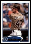 2012 Topps Update #44  Jeremy Hermida  Front Thumbnail