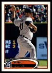 2012 Topps Update #54  Phil Coke  Front Thumbnail