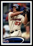 2012 Topps Update #56  Matt Diaz  Front Thumbnail