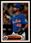 2012 Topps Update #58  Manny Acosta  Front Thumbnail