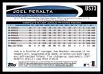 2012 Topps Update #73  Joel Peralta  Back Thumbnail