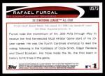 2012 Topps Update #75  Rafael Furcal  Back Thumbnail