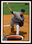 2012 Topps Update #86  Anibal Sanchez  Front Thumbnail