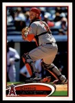 2012 Topps Update #93  Chris Iannetta  Front Thumbnail