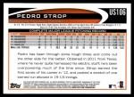 2012 Topps Update #106  Pedro Strop  Back Thumbnail