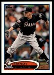 2012 Topps Update #107  Randy Choate  Front Thumbnail