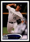 2012 Topps Update #114  Jeremy Guthrie  Front Thumbnail
