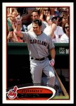 2012 Topps Update #121  Johnny Damon  Front Thumbnail