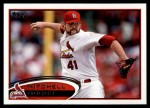 2012 Topps Update #131  Mitchell Boggs  Front Thumbnail