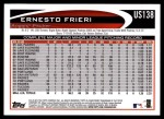 2012 Topps Update #138  Ernesto Frieri  Back Thumbnail