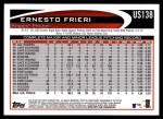 2012 Topps Update #138  Ernesto Frieri  Back Thumbnail