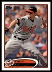 2012 Topps Update #156  Troy Patton  Front Thumbnail