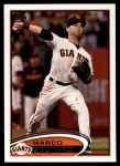 2012 Topps Update #160  Marco Scutaro  Front Thumbnail