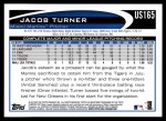 2012 Topps Update #165  Jacob Turner  Back Thumbnail