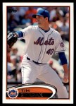 2012 Topps Update #175  Tim Byrdak  Front Thumbnail