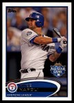 2012 Topps Update #177  Mike Napoli  Front Thumbnail
