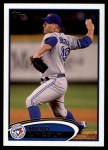 2012 Topps Update #194  Brad Lincoln  Front Thumbnail