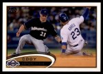 2012 Topps Update #197  Cody Ransom  Front Thumbnail